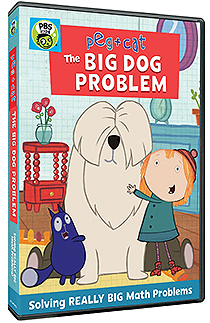 Peg Cat The Big Dog Problem DVD G 2018 PBS Kids